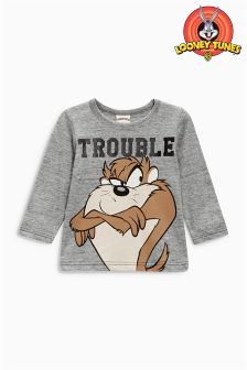 Long Sleeve Taz T-Shirt (3mths-6yrs)