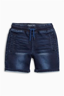 Denim Jersey Shorts (3-16yrs)