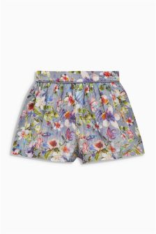 Floral Shorts (3mths-6yrs)
