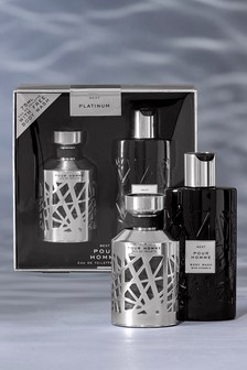 Platinum Luxury Fragrance Gift Set