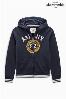 Abercrombie & Fitch 92 Zip Through Hoody