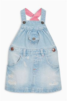 Authentic Pinafore Dress (0mths-2yrs)