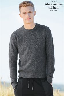Abercrombie & Fitch Crew Neck Knit