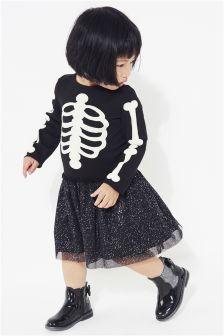 Halloween Skeleton Dress Up (3mths-6yrs)