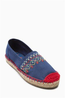 Embroidered Espadrilles (Older Girls)