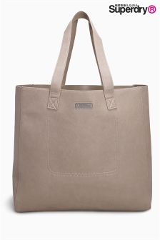 Superdry Taupe Amelia Tote Bag