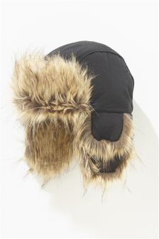 Faux Fur Trapper (Older Boys)