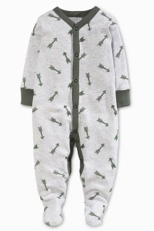 Adventure Sleepsuits Three Pack (0mths-2yrs)