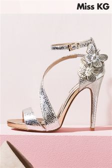 Miss KG Gold Giselle Metallic Butterfly Sandal
