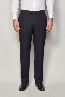 Birdseye Regular Fit Trousers