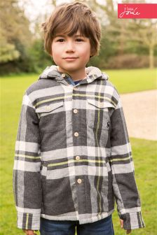 Little Joule Grey Doolan Check Shirt