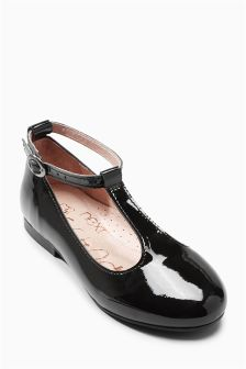 Patent T-Bar Shoes (Older Girls)