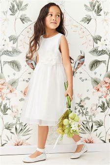 Corsage Bridesmaid Dress (3mths-16yrs)