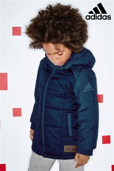adidas Blue Raglan Zip Jacket