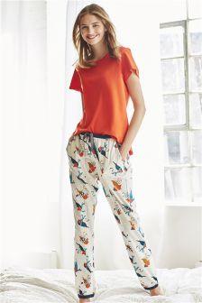 Robin Print Pyjamas