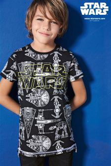 Star Wars™ Ships All-Over Print T-Shirt (3-14yrs)