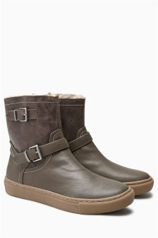 Borg Lined Boots