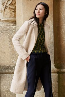 Knit Look Coat