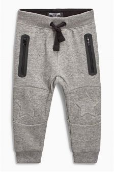 Star Embossed Knee Joggers (3mths-6yrs)
