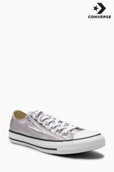 Converse Metallic Grey Chuck Taylor All Star