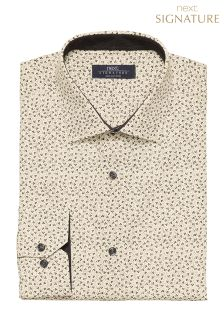 Signature Floral Printed Regular Fit Shirt