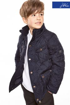 Little Joule Navy Stafford Quilted Jacket