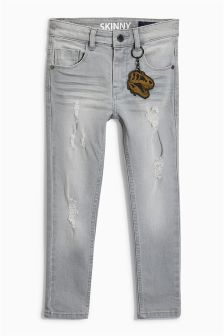 Skinny Distressed Jeans (3-16yrs)