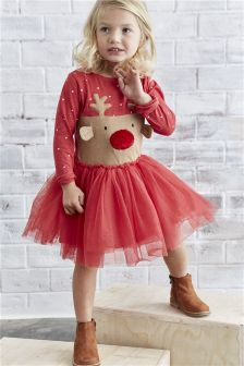 Christmas Dress (3mths-6yrs)