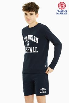 Franklin And Marshall Navy Sweater