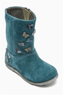 Butterfly Detail Boots (Younger Girls)