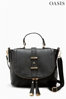 Oasis Black Chloe Satchel