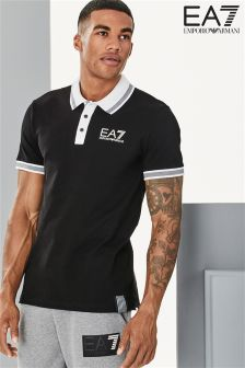 EA7 Emporio Armani Black Evolution Polo