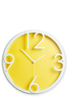 Wall Clock Studio Collection By Next