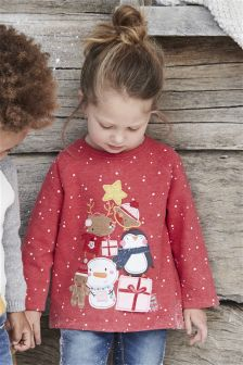 Christmas Character T-Shirt (3mths-6yrs)