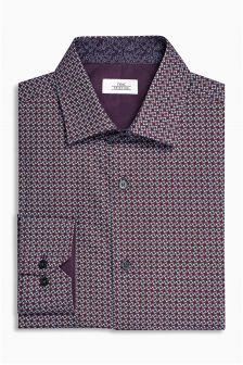 Print Regular Fit Shirt