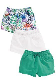 Floral Shorts Three Pack (3mths-6yrs)
