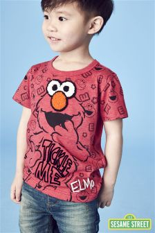Short Sleeve Elmo T-Shirt (3mths-6yrs)