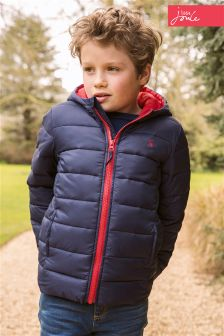 Little Joule Navy Cairn Padded Packit Jacket