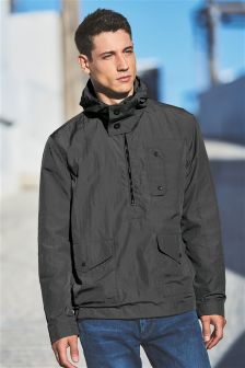 Overhead Hooded Jacket