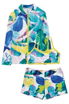 Three Piece Sunsafe Suit (3-16yrs)