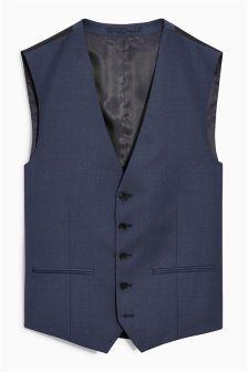 Signature Crepe Suit: Waistcoat