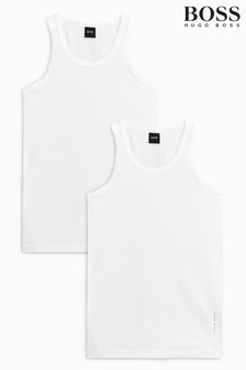 Boss Slim Fit Vests Two Pack