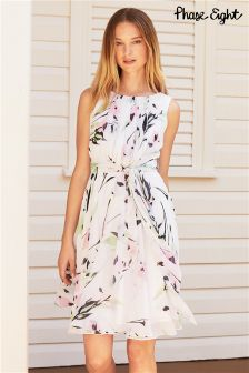 Multi Phase Eight Tula Floral Tie Dress