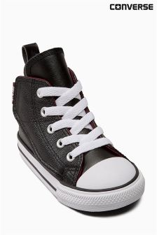 Converse Black Little Kids Simple Steps