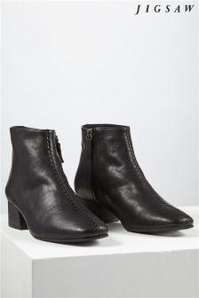 Jigsaw Black Ankle Boot