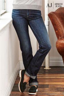 Armani Jeans Mid Wash Straight Jean