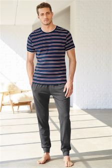 Stripe Jersey Set