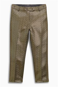 Metallic Capri Trousers (3-16yrs)