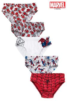Spider-Man™ Briefs Five Pack (1.5-8yrs)