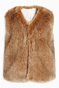 Faux Fur Gilet (12mths-6yrs)
